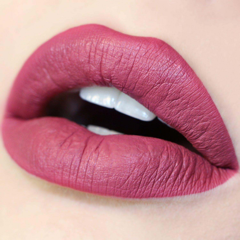 Colourpop Ultra Matte  Lipstick Bad Habit Vegan dusty mauve pink