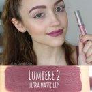 Colourpop Ultra Matte Lipstick Kathleenlights Lumière 2 Liquid Lipstick dusty mauve pink