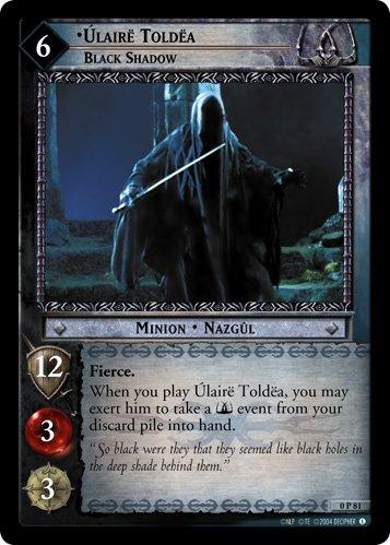 0P81 - Ulaire Toldea, Black Shadow (Foil) - Promo