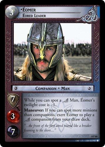 0P80 - Eomer, Eored Leader (Foil) - Promo