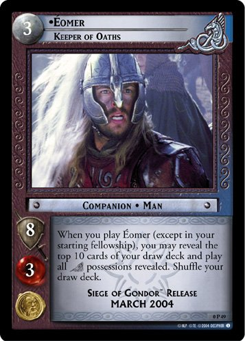0P49 - Eomer, Keeper of Oaths - Promo