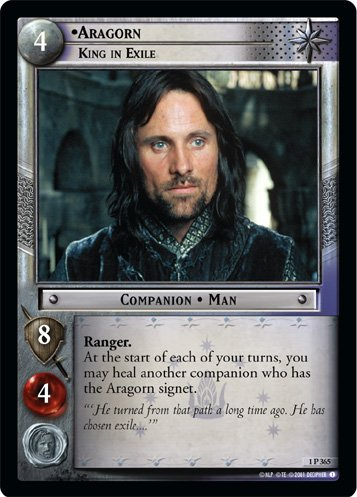 1P365 - Aragorn, King in Exile
