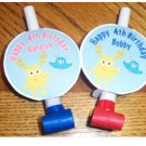 Moose A Moose Personalized Birthday Blowouts