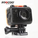 Original SOOCOO S60 HD 1080P WiFi Sports Action Camera 170 Degrees Wide Angle Lens 60m Waterproof 2.