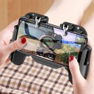 H5 Mobile Gaming Trigger - For iOS Android PUBG Controller Gamepad with Cooling Fan Black