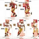 2007 San Francisco 49'ers NFL Playoffs Team Set