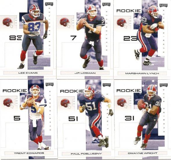 2007 Buffalo Bills NFL Playoffs Team Set