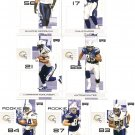 2007 San Diego Chargers NFL Playoffs Team Set