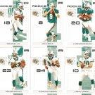 2007 Miami Dolphins NFL Playoffs Team Set