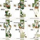 2007 New York Jets NFL Playoffs Team Set