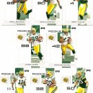 2007 Green Bay Packers NFL Playoffs Team Set