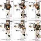 2007 Oakland Radiers NFL Playoffs Team Set