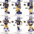 2007 Saint Louis Rams NFL Playoffs Team Set