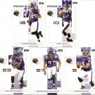 2007 Baltimore Ravens NFL Playoffs Team Set