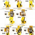 2007 Pittsburgh Steelers NFL Playoffs Team Set