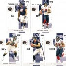 2007 Houston Texans NFL Playoffs Team Set