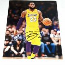 Lebron James Lakers Los Angeles NBA Photo Hand Signed with CAO.