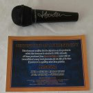 MADONNA MICROPHONE Hand Signed with CAO.
