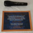Taylor Swift Hand Signed Microphone with CAO.