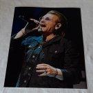 Bono Paul David Hewson Photo Hand Signed with CAO.