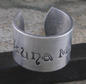 Hakuna Matata Custom Ring - Hand Stamped Adjustable Ring