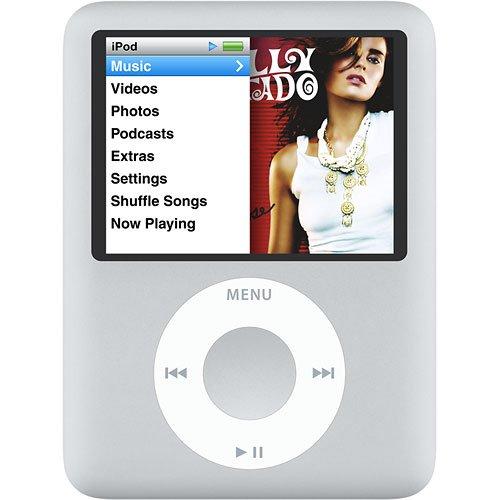 Apple Ipod Nano 3rd Generation (8GB) (SILVER)
