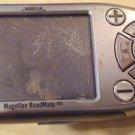 Magellan Roadmate 800 GPS cracked screen for parts navigation maps broken nowire