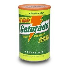 Gatorade Lemon-Lime Powder -Makes 9 Gallons/76.5 oz Canister