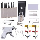 37Pcs Powerful Locksmith's Tools Kit Combination Lock Pick Hook and Lock Pick Tool