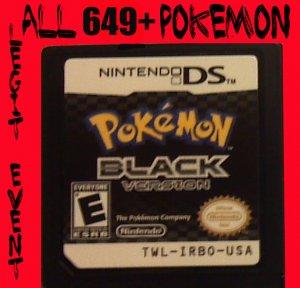 Pokemon Black Loaded With All 649 + 40 RARE Legit Event Unlocked