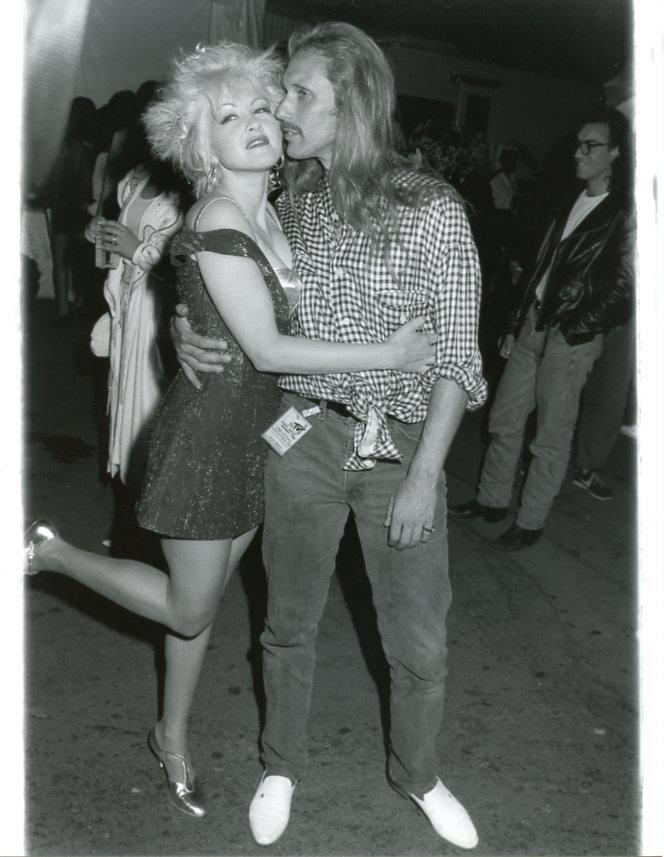 Cyndi Lauper 7x9 Original glossy photo #X0646