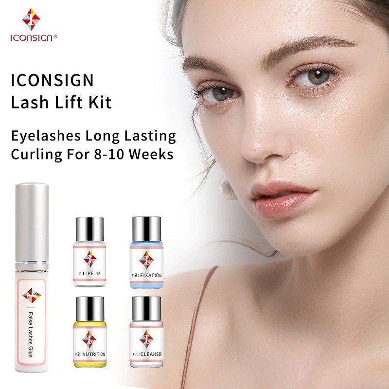 Eyelashes lifting kit