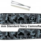 VICTORINOX SCALES / HANDLES 91 mm STD NAVY CAMOUFLAGE - SWISS ARMY KNIFE