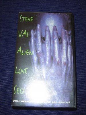 Steve Vai - Alien Love Secrets VHS