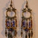 113(Inventory#)  Fashion long dangling earrings