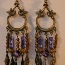 131(Inventory#) Fashion long beads earrings