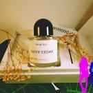 Byredo Super Cedar Eau de Parfum 100 ml 3.3 fl.oz. Unisex Spray New sealed with box