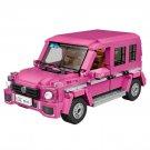 Girl Car Mini Blocks Kids Building Blocks