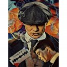 Peaky Blinders Vintage Poster DIY Paint by Numbers Kit for Adults Crime Drama Series Color by Number