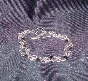 Swarovski Black/Crystal Channel Bracelet