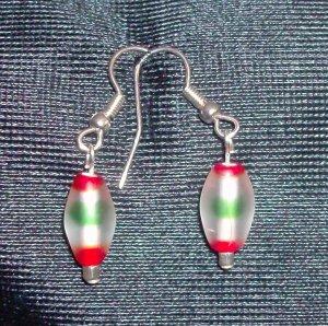 Multi-Color Glass Earrings