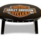 Harley Davidson Emblem Stool Item # 10113