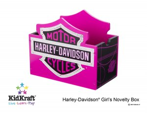 Harley Davidson Girls Novelty Box Item # 10150