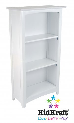 Avalon Tall Bookshelf - White Item # 14001