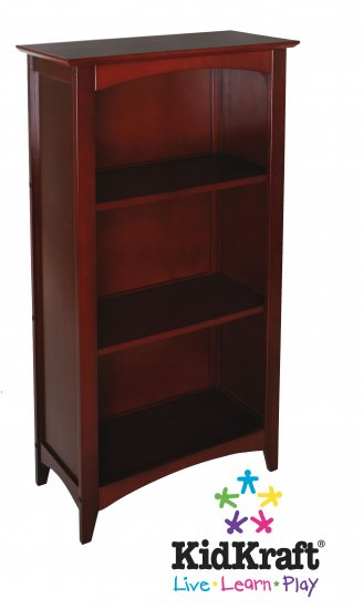 Avalon Tall Bookshelf - Cherry Item # 14031