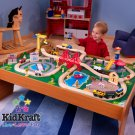 100 pc Ride around Town train set w/table Item # 17836