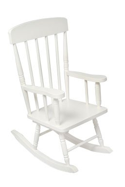 Spindle Rocker Chair - White Item # 18301