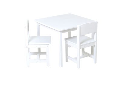 Aspen Table and Chair Set - White Item # 21201