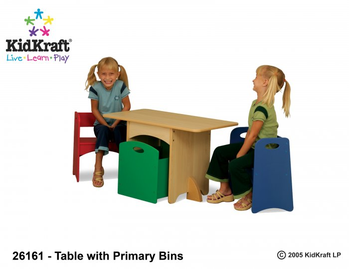 Table with Primary Benches Item # 26161