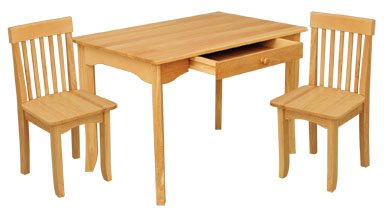 Avalon Table & Chair Set - Natural Item # 26621